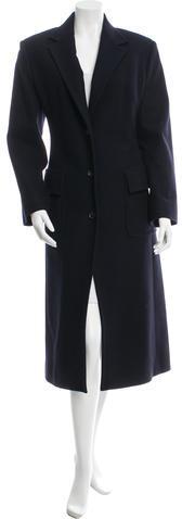 CelineCéline Long Wool Coat