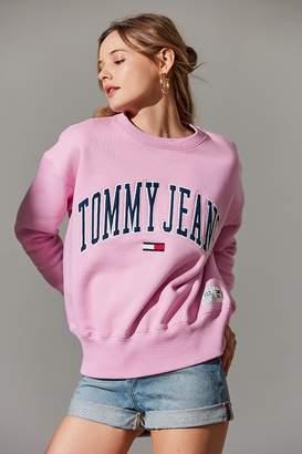 Tommy Jeans Collegiate Crew-Neck Sweatshirt