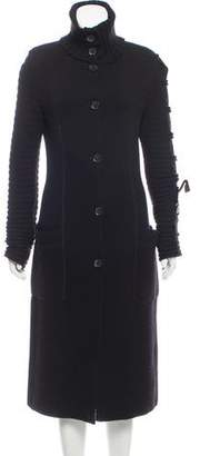 Valentino Knit Long Coat