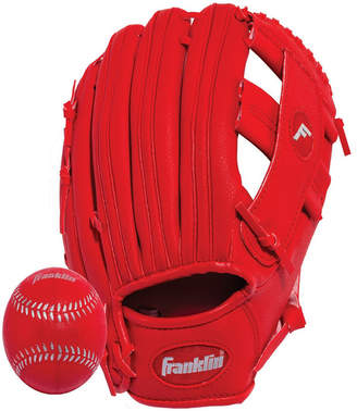 """Franklin Sports 9.5"""" Rtp Performance Teeball Glove And Ball Combo - Right Handed Thrower"""