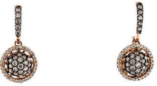 Le Vian Diamond Drop Earrings $1,295 thestylecure.com