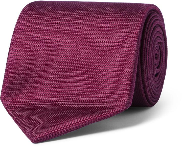 CharvetCharvet 7.5cm Textured-Silk Tie