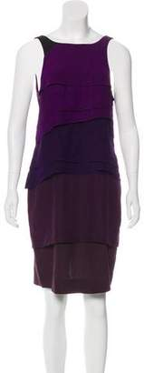 Vena Cava Sleeveless Silk Dress