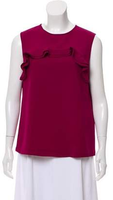 Raoul Crepe Sleeveless Top