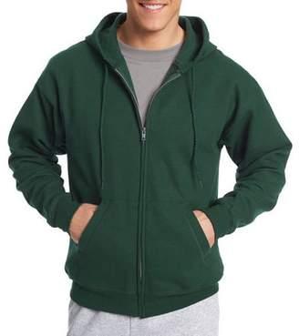 Hanes Mens Pullover Ecosmart Fleece Hoodie Small Navy