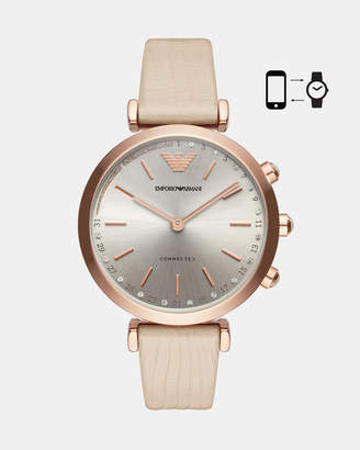 Emporio Armani Hybrid Smartwatch Nude