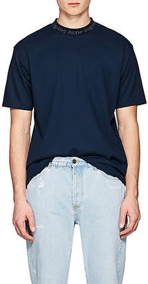 Acne Studios Men's Navid Jersey T-Shirt - Blue