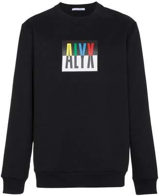 1017 Alyx 9SM Logo crew neck sweatshirt