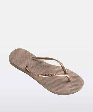 Havaianas Slim Metallic Rose Gold Thong