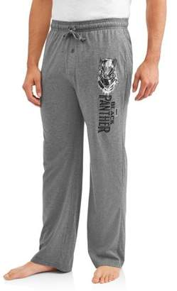 Marvel Comics: Avengers Black Panther Big Men's Lounge Pants, 2XL