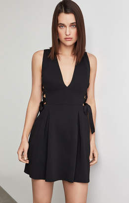 BCBGMAXAZRIA Kalie Lace-Up Dress