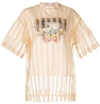Puma Maison Yasuhiro striped layered T-shirt