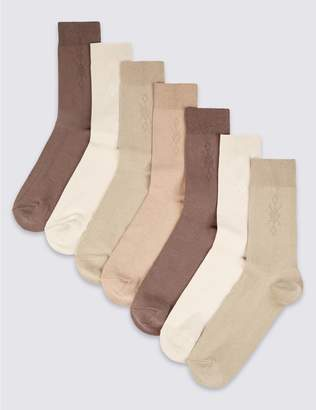 Marks and Spencer 7 Pack Cool & Freshfeet Cotton Rich Socks