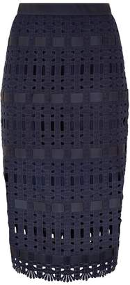 Ted Baker Aava Lace Midi Skirt