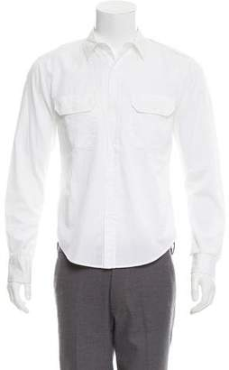 Band Of Outsiders Button-Up Utility Shirt