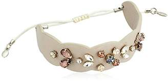 Rebecca Minkoff Jeweled Guitar Strap Pulley Bracelet