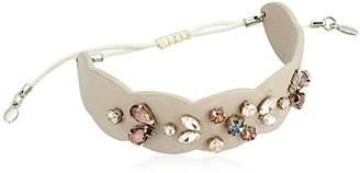 Rebecca Minkoff Jeweled Guitar Strap Pulley Bracelet