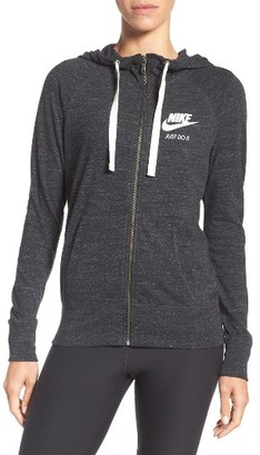 Women's Nike Sportswear Gym Vintage Hoodie $60 thestylecure.com