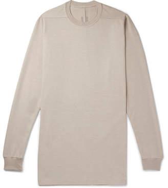 Rick Owens Oversized Cotton-Jersey Sweatshirt