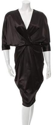 Costello Tagliapietra Midi Cocktail Dress
