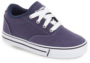 Boy's Heelys 'Launch' Canvas Sneaker $50 thestylecure.com