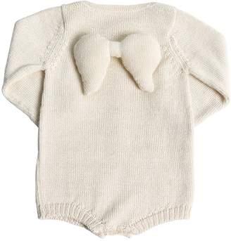 Oeuf Angel Baby Alpaca Knit Bodysuit