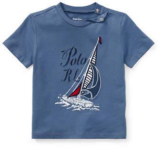 Ralph Lauren Sailboat Graphic Cotton Jersey Tee