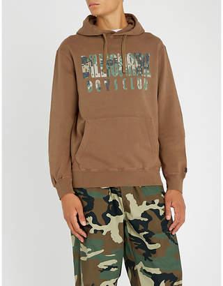 Billionaire Boys Club Digital camo-print overdye cotton-jersey hoody