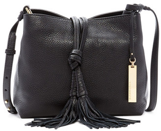 Vince Camuto Taro Leather Tassel Crossbody $238 thestylecure.com