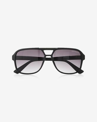 639d5fc7f Express Matte Thick Frame Sunglasses