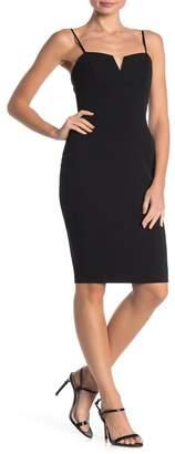 Love, Nickie Lew Notch Front Slip Dress