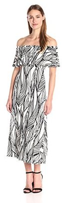 Tracy Reese Women's Flared Flounce Dress $328 thestylecure.com