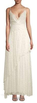 Valentino Sleeveless Silk Evening Dress
