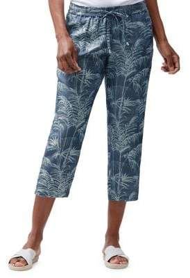 Tommy Bahama Fresco Fronds Cropped Pants