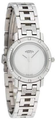 Hermès Clipper Necra Watch