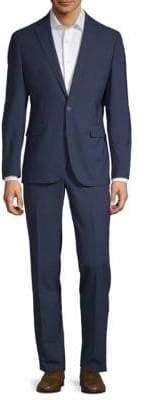 Cole Haan Modern Fit Grand OS Notch Lapel Suit