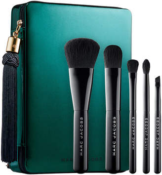 Marc Jacobs BEAUTY Beauty Your Place Or Mine? Five-Piece Travel Brush Collection