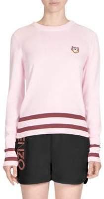 Kenzo Striped Trim Sweater