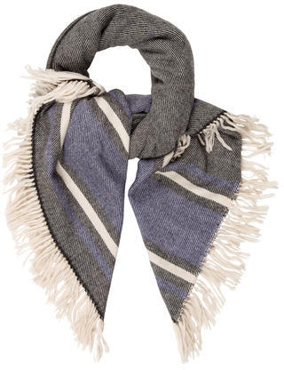 Isabel Marant Isabel Marant Striped Patterned Scarf