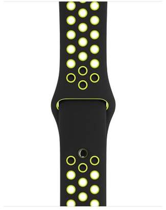 Apple 38mm Black/Volt Nike Sport Band – S/M & M/L