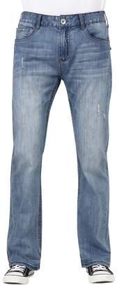Seven7 Men's Parrot Slim-Fit Bootcut Jeans