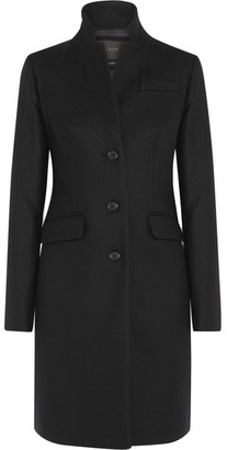 J.Crew - Regent Wool Coat - Black $415 thestylecure.com
