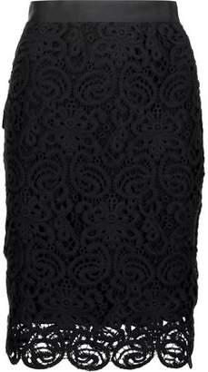 Miguelina Scarlett Cotton-Lace Skirt
