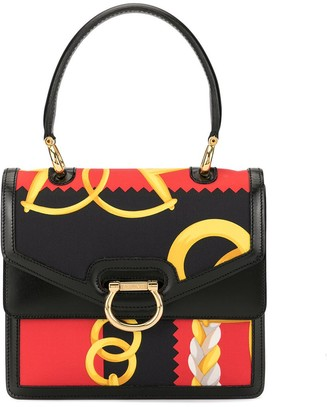 Celine Pre-Owned Double Flap Hand Bag