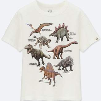 Uniqlo Boy's Discovery Channel Short-sleeve Graphic T-Shirt