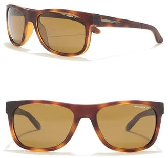 Arnette 57mm Square Sunglasses