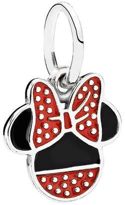 Pandora Disney Jewelry Collection Silver Minnie Icon Dangle Charm