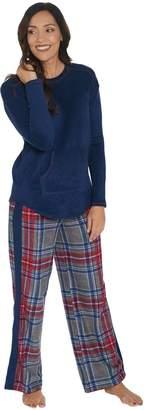 Cuddl Duds Petite Fleecewear Stretch Novelty Pajama Set