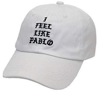 Yeezy Marthasky I Feel Like Pablo Hat Cap in Burgundy Yeezus Baseball The Life of Pablo