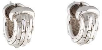 Chimento 18K Textured Hoop Earrings